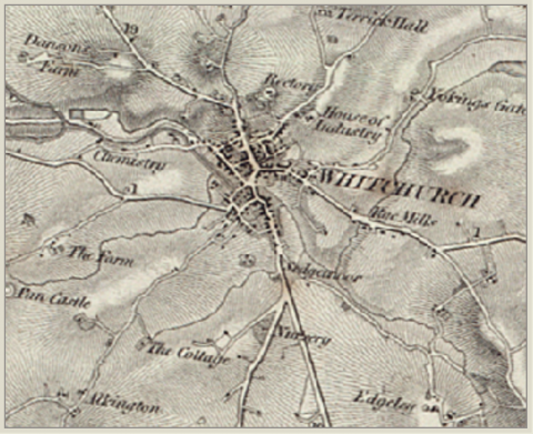 Old Map Whitchurch