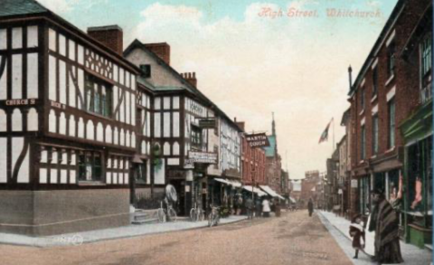 Old high street Whitchurch 2